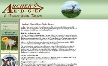 Archer's Edge & Heavy Waite Targets