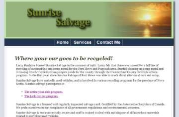 Sunrise Salvage